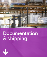[Photo: Documentation & shipping]
