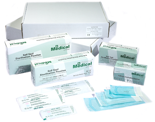 Granton® Medical, Cleanline, Self Seal Sterilisation Pouches